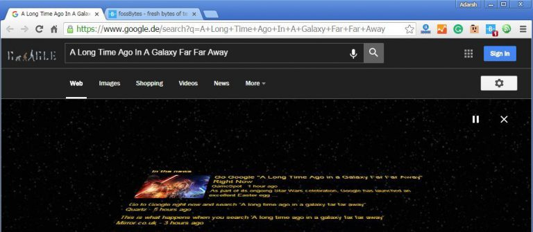 """Stop Everything And Google """"A Long Time Ago In A Galaxy Far Far Away"""" Right Now"""