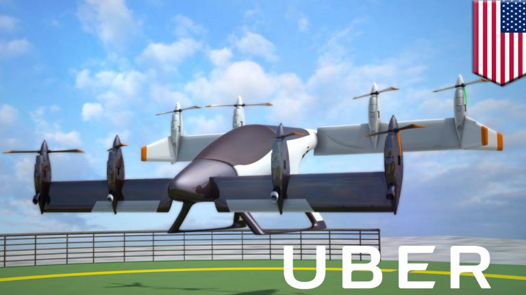 UBER planning for flying cars in 10 years
